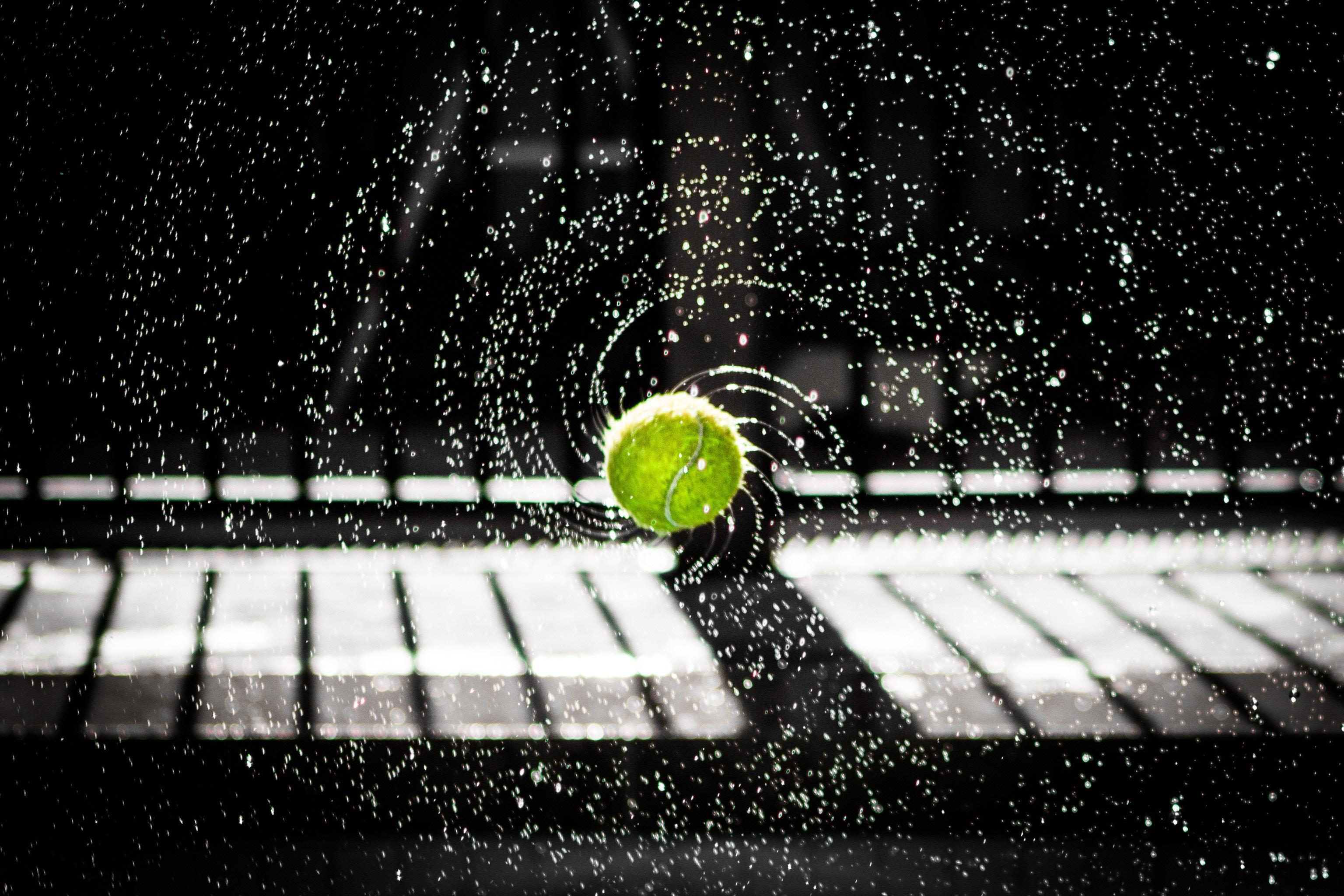 Entrenamiento de revés en tenis